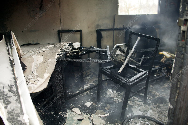 Burnt furniture