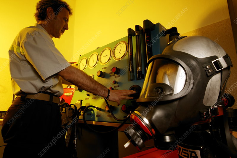 Firefighting breathing equipment