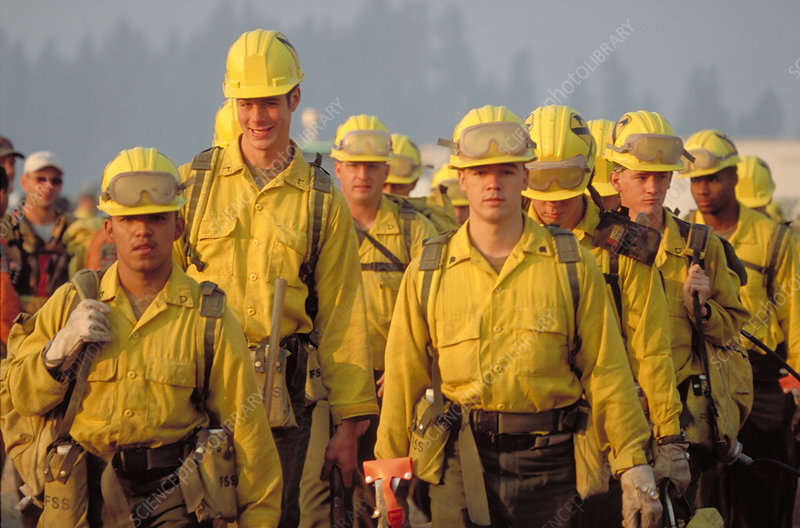 Army soldiers recruited as firefighters