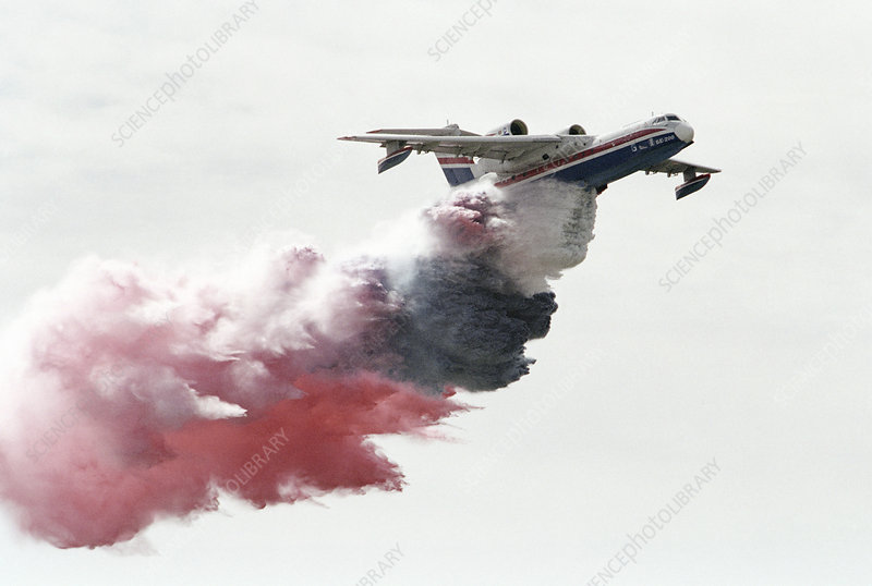 Fire-fighting aeroplane