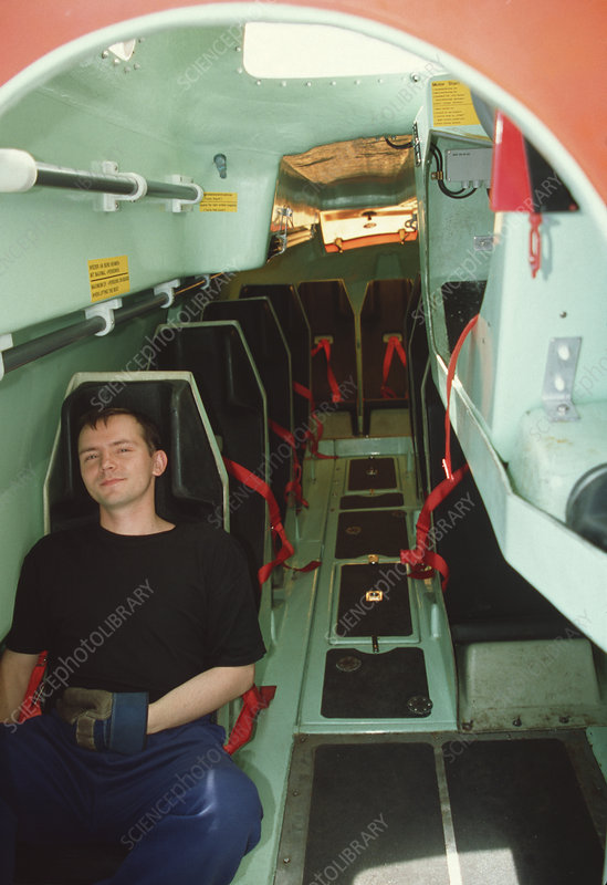 Lifeboat interior