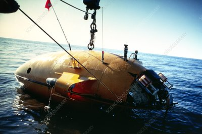 Deepstar 4000 research submersible