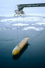 Autonomous underwater vehicle (Autosub)