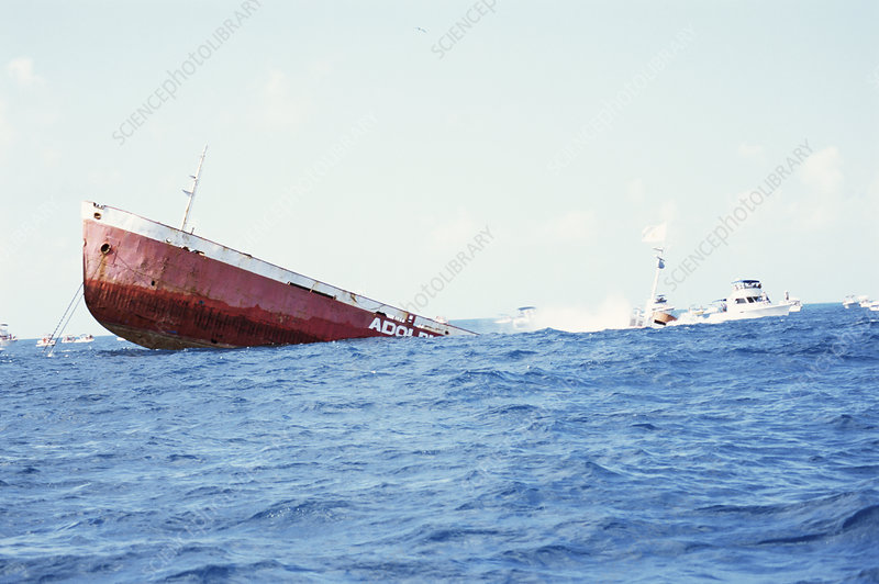 Adolphus Bush ship sinking