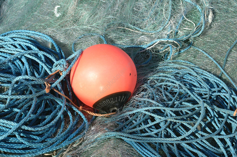 Fishing net buoy