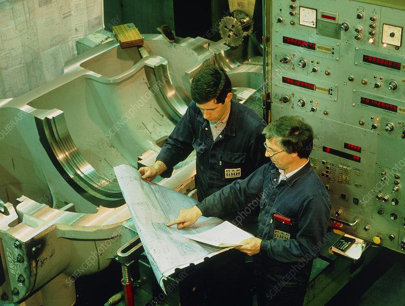 boring machine operator