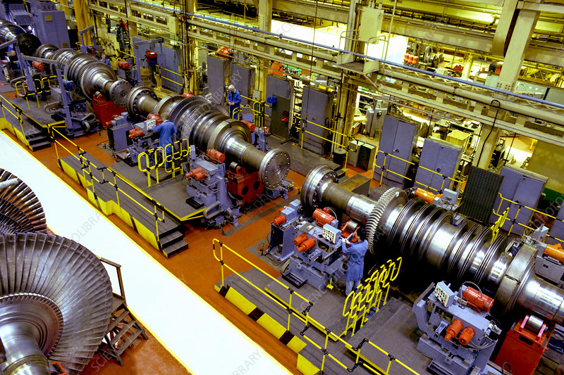 Steam turbine manufacture