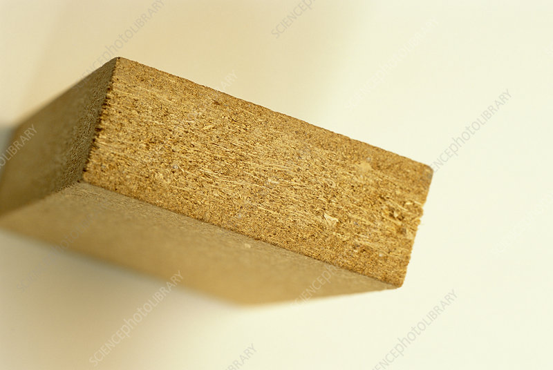 Straw particleboard