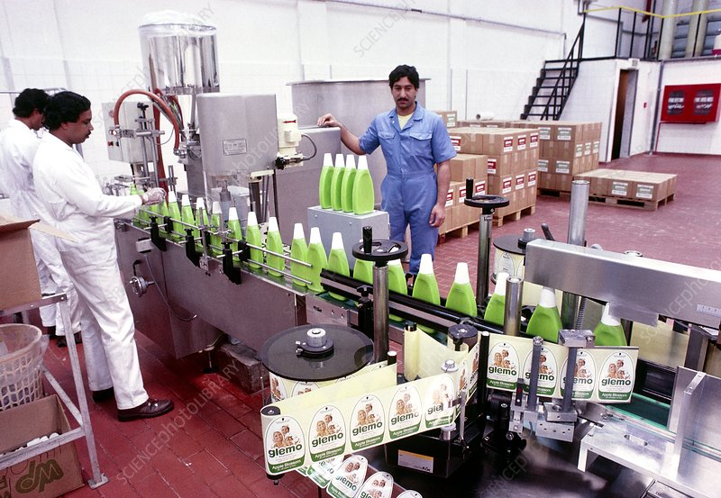 Bottling production line