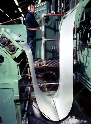 Production of sheet metal
