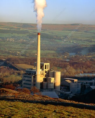 Cement Works in the Peak District