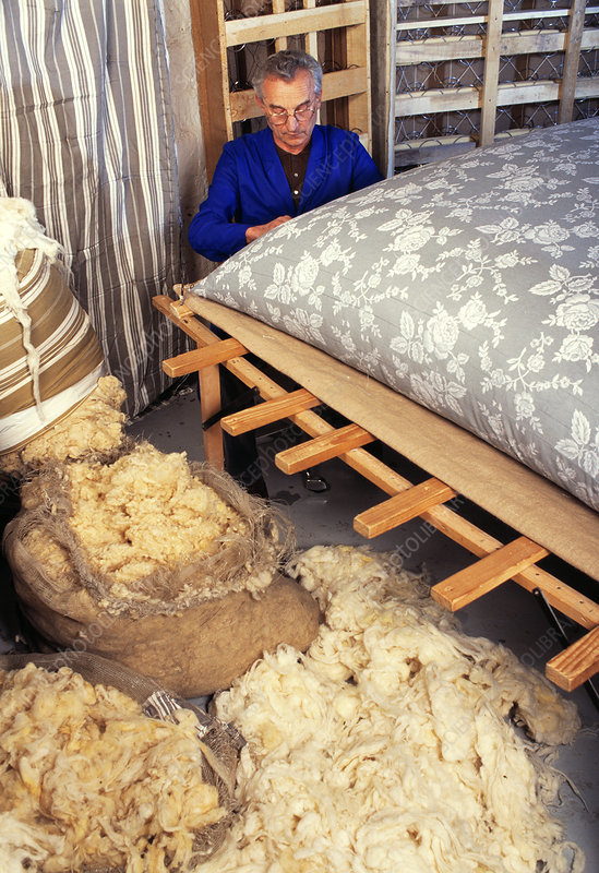 Sewing mattresses