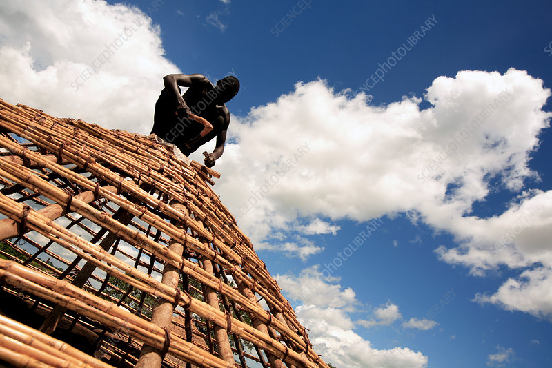 Construction work, Uganda