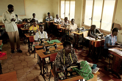 Sewing school, Uganda