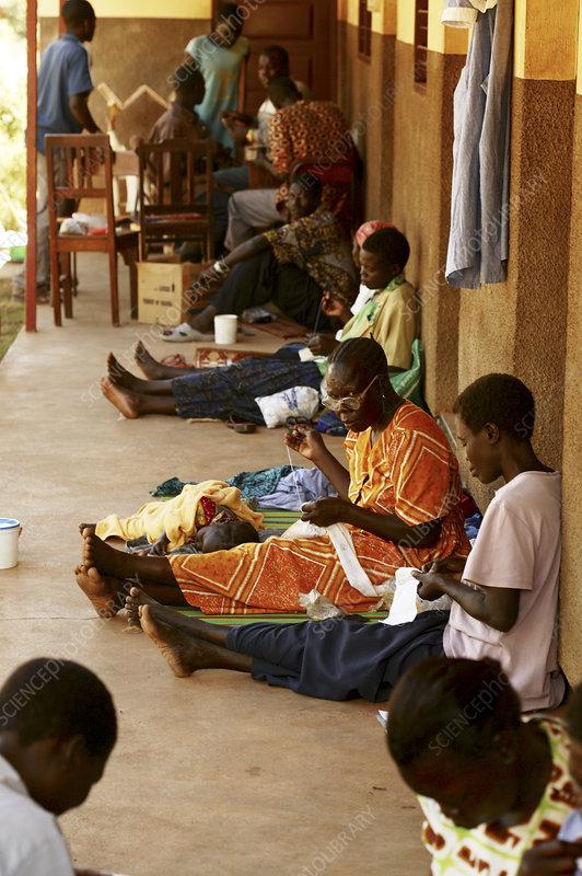 Village crafts, Uganda
