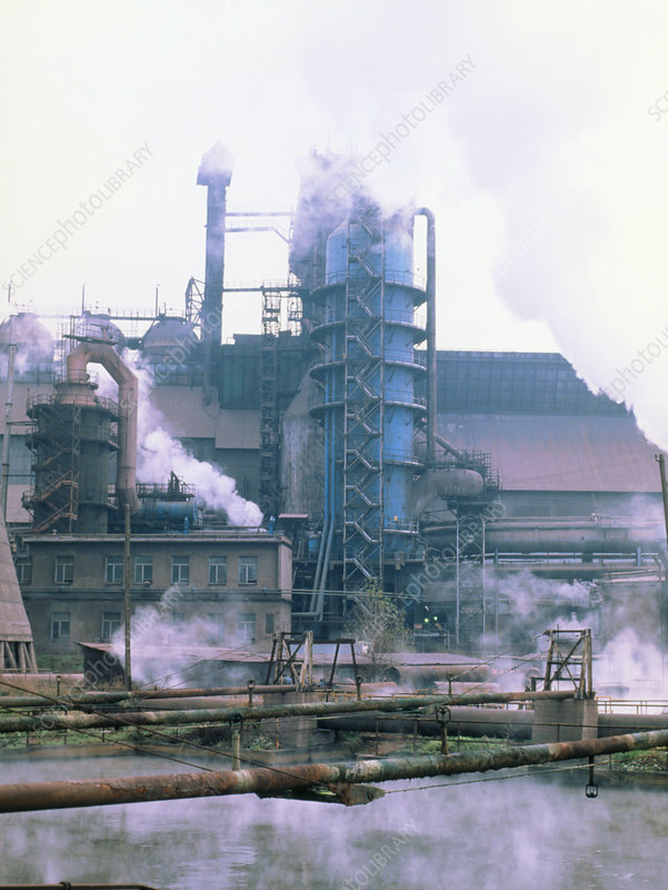 Exterior of Nowa Huta Steelworks, Cracow