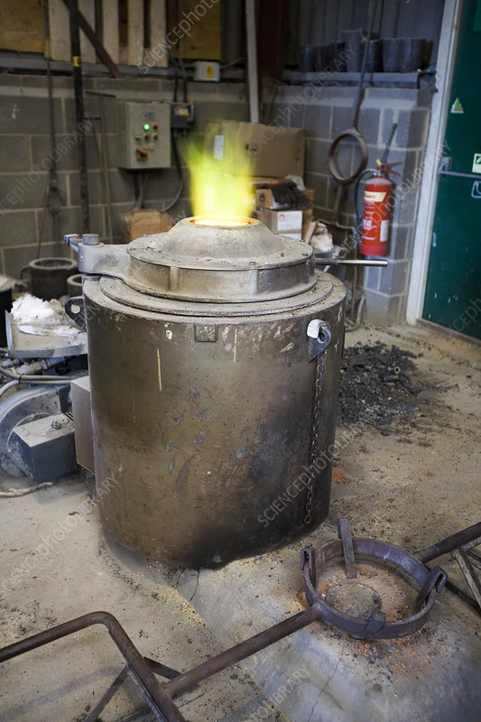 Copper foundry