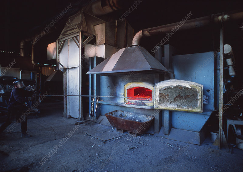 Recycling furnace
