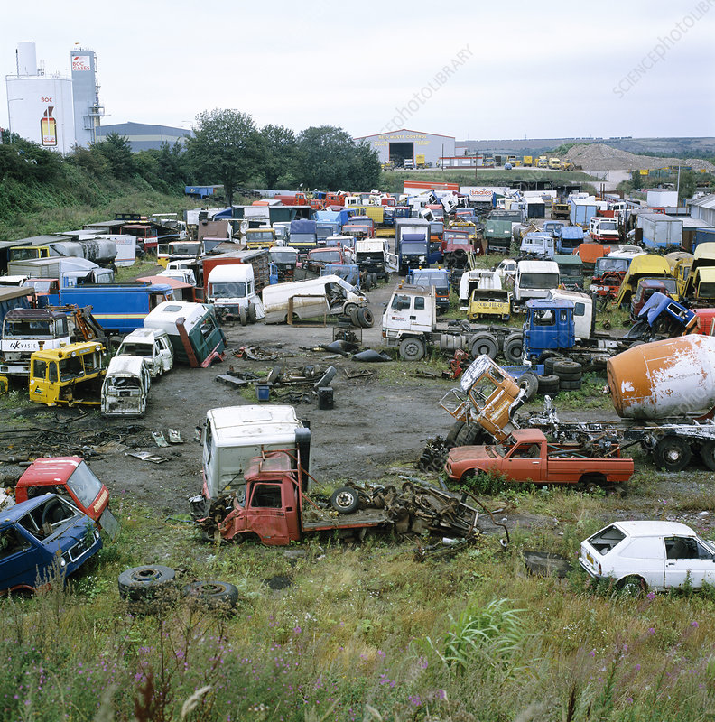 Vehicle breakers yard