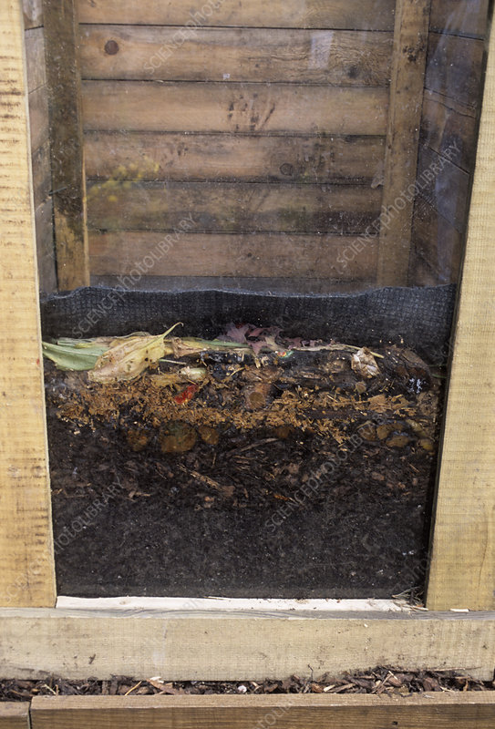 Wormery for making compost