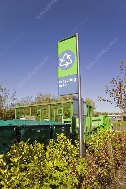Recycling collection point