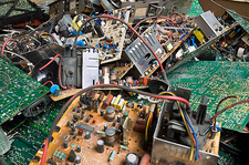 Recycling electrical goods, circuitry