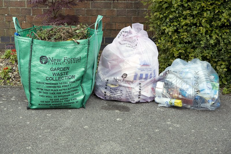 Household waste recycling