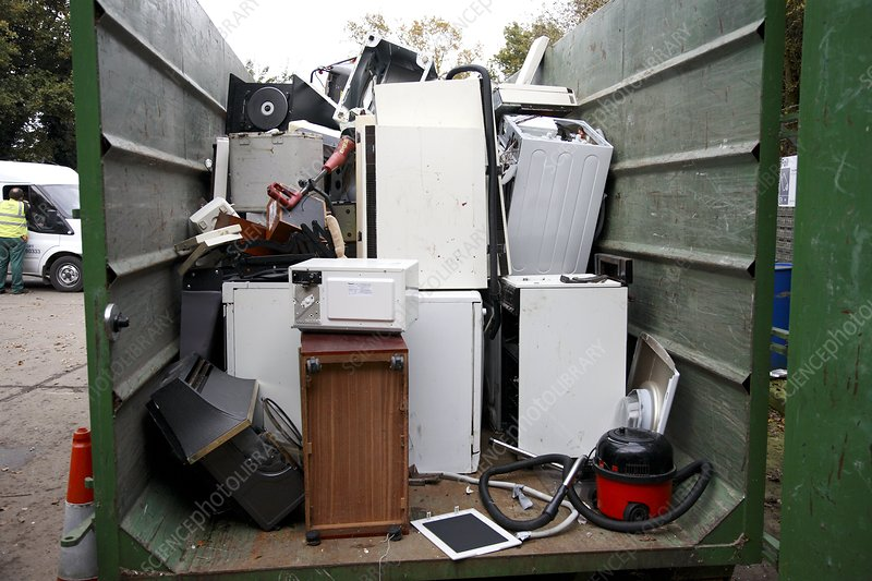 Electrical goods recycling