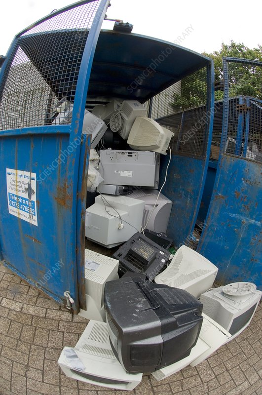 Computer monitor recycling