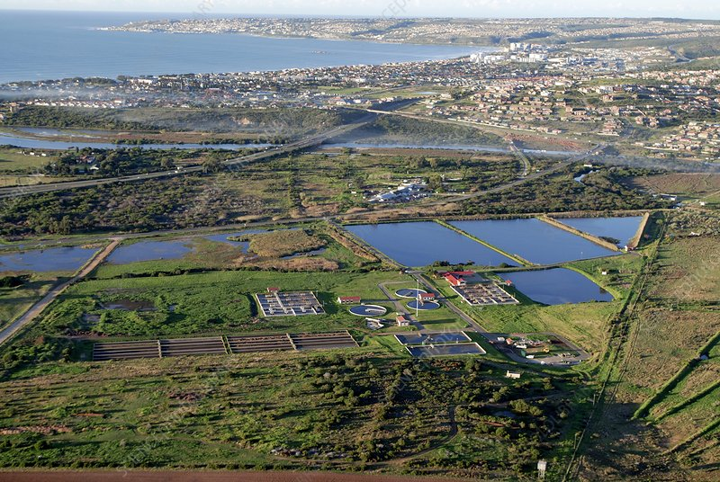 Sewage treatment plant, South Africa