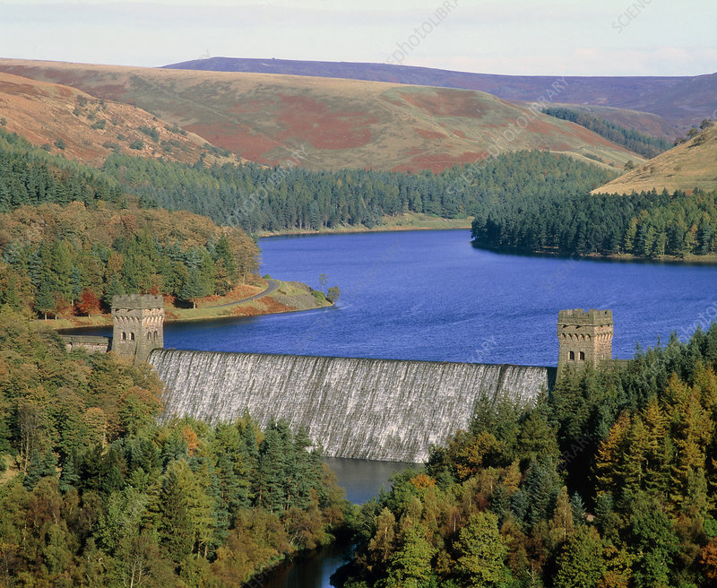 Howden Dam and Reservoir, Peak District NP