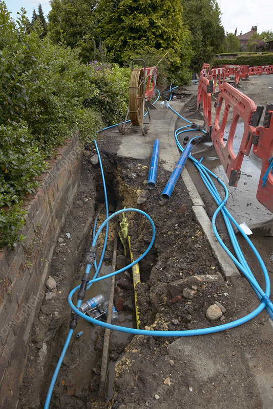 Replacing water mains