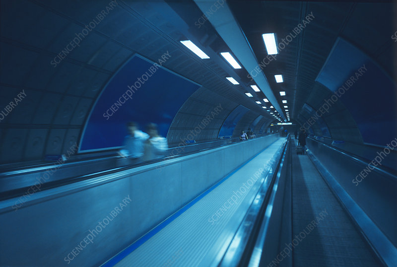 Underground travelator