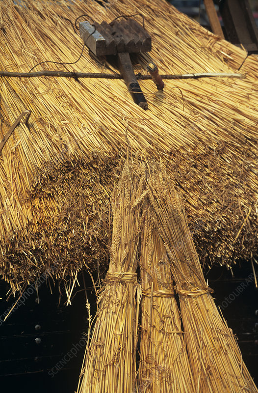 Roof thatching materials