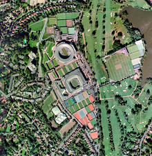 Wimbledon tennis complex, UK
