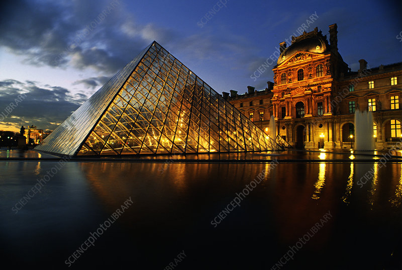 Grande Pyramid at the Louvre