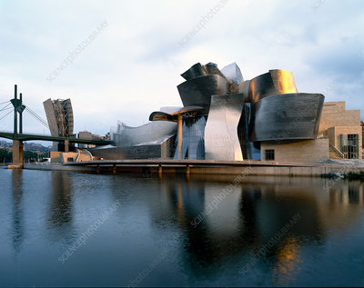 Museum building by Frank Gehry, Spain