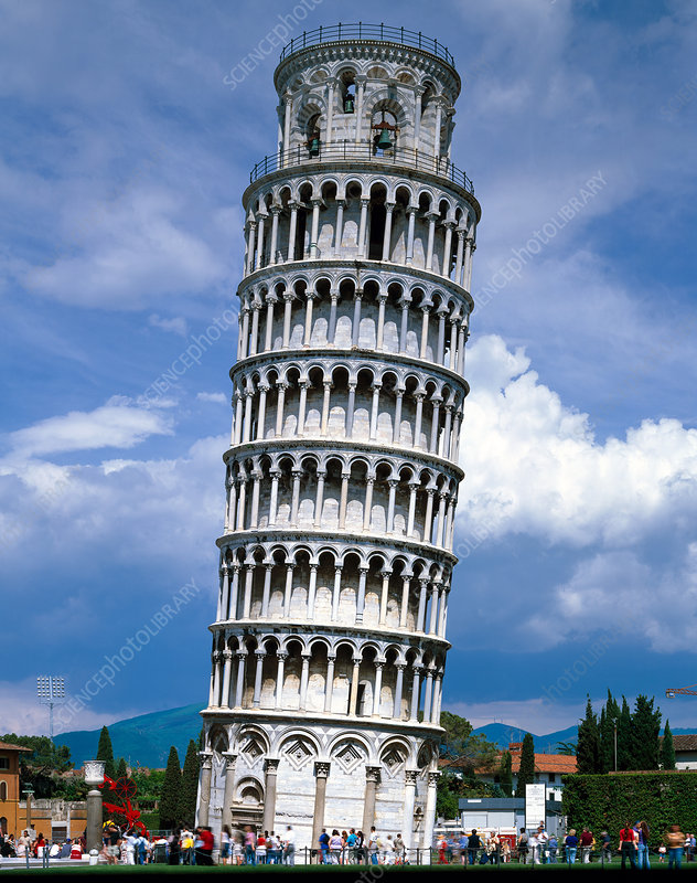 The Leaning Tower of Pisa, Pisa, Italy