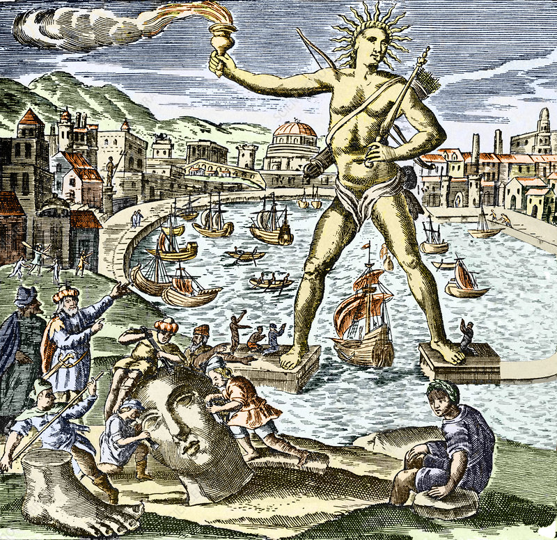 Colossus of Rhodes statue