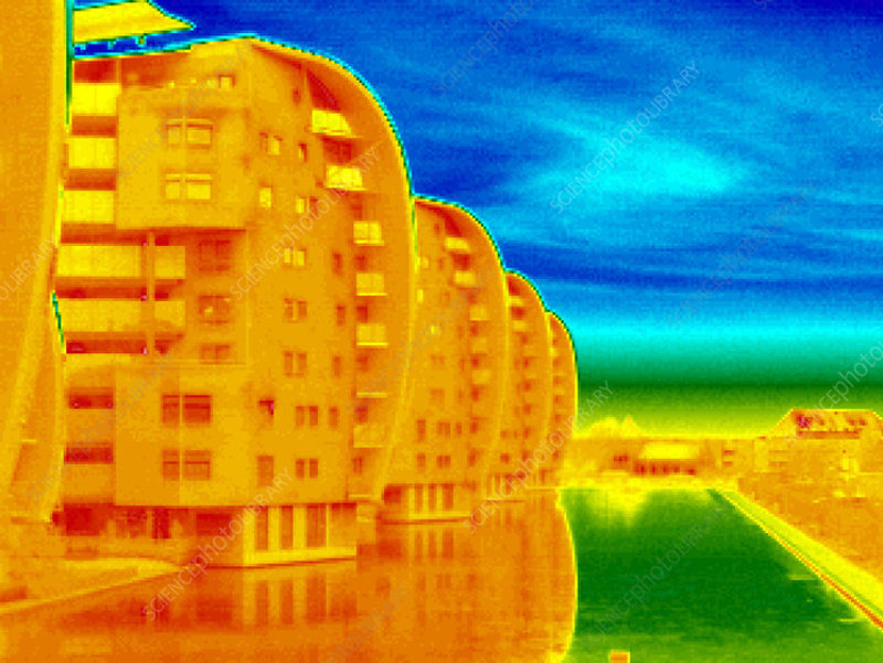 Flats, thermogram