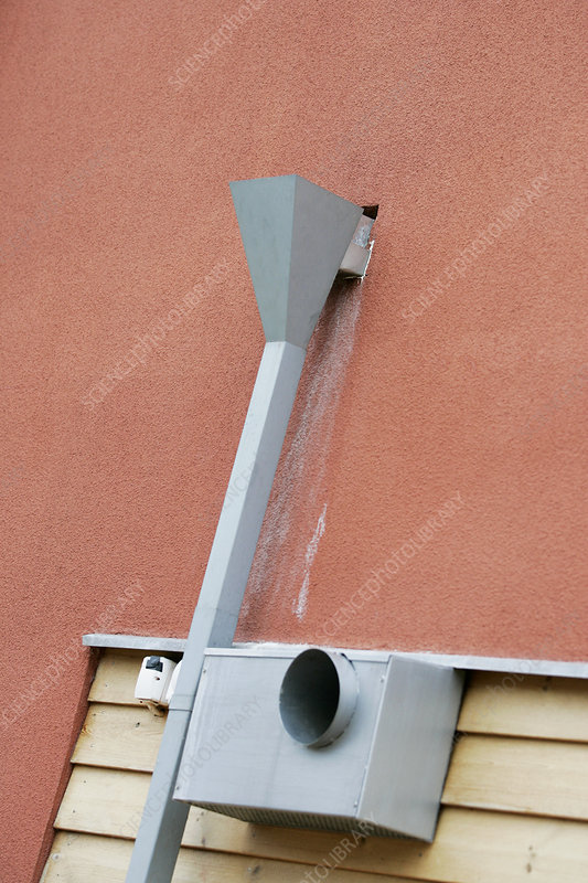 Guttering and ventilation inlet