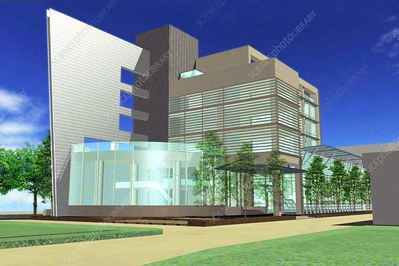 IRCAD cancer diagnostics building, Taiwan
