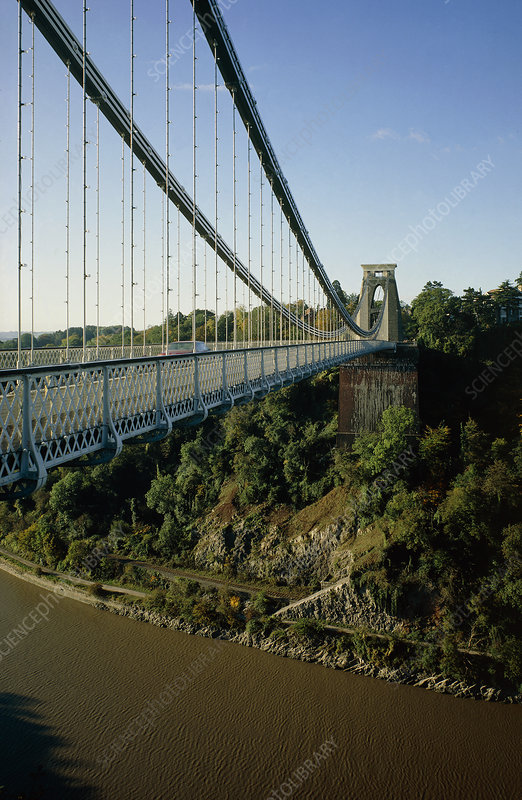 Clifton suspension bridge, Bristol. (I.K.Brunel)
