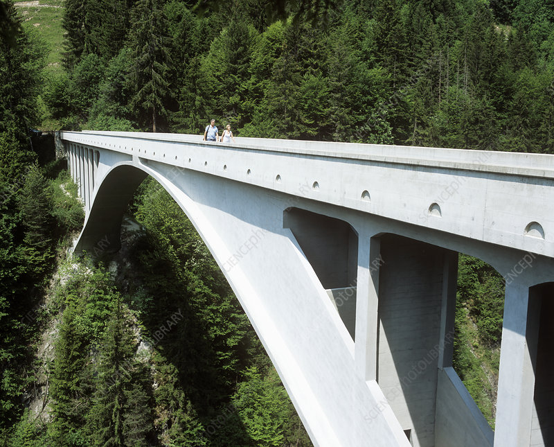 Salginatobel Bridge, Switzerland