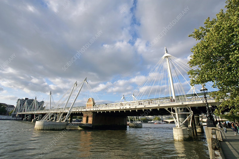 Hungerford Bridge, London, UK