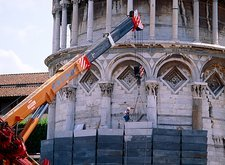 Leaning Tower of Pisa repairs