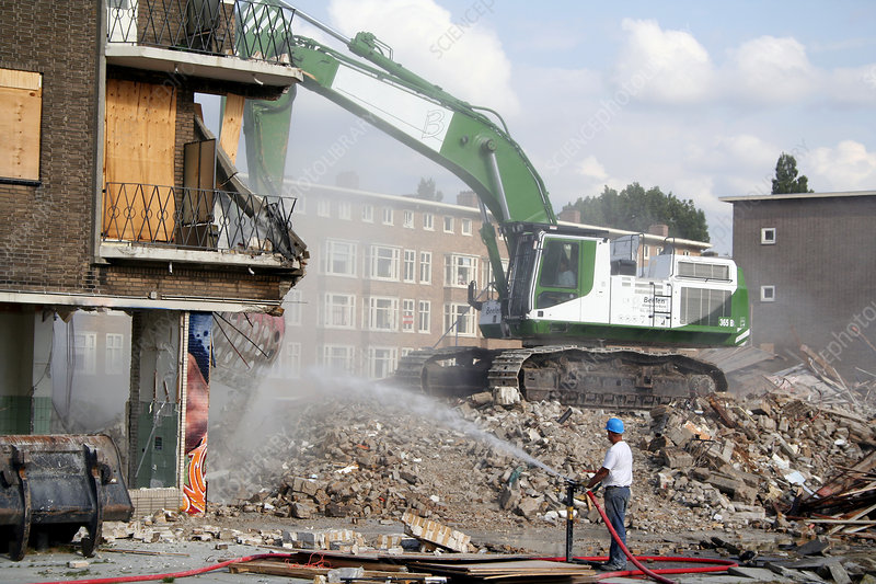 Demolition Of Science : Demolition stock image t  science photo library