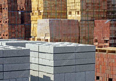 Assortment of bricks