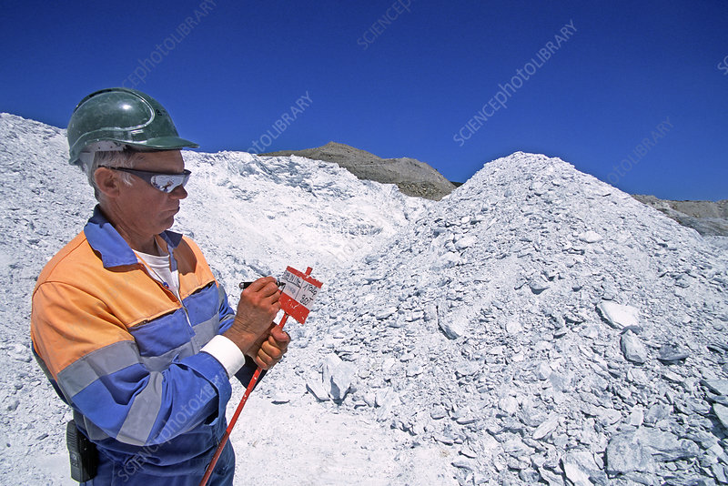 Talc quarry inspection