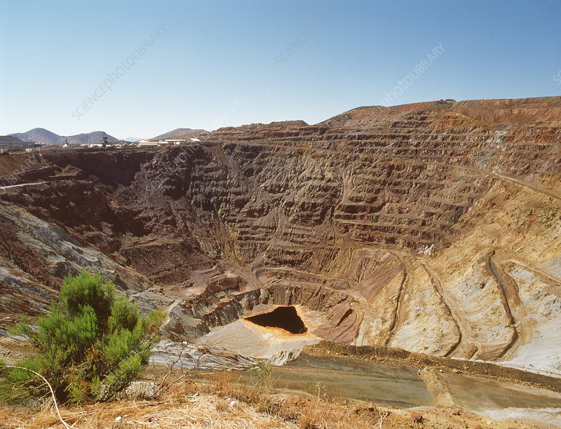 Disused copper mine